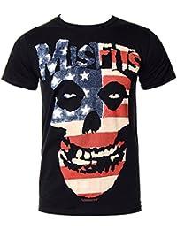 CID Herren T-Shirt Misfits On Black