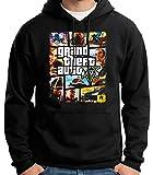 35mm - Sudadera Con Capucha - Grand Theft Auto V - Game- Videojuegos -...