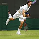 Aircast White A60 Ankle Brace - Exclusive Brand New All Sizes As Worn by Andy Murray - Superb Yet Lightweight Support To Help Prevent & Treat Ankle Sprains Fractures Instability Tarsal Tunnel Syndrome Large Right by Aircast