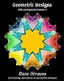 Geometric Designs: Adult Coloring Books (Volume 4)
