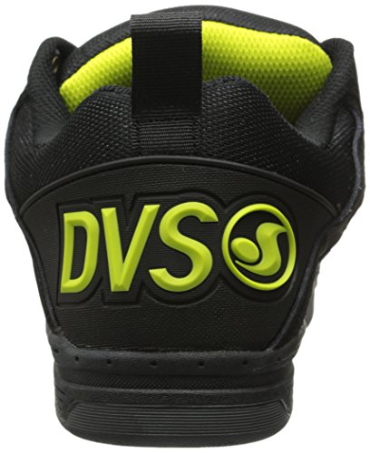 DVS Comanche, Chaussures de skateboard homme Gris (Grey/Black Lime)