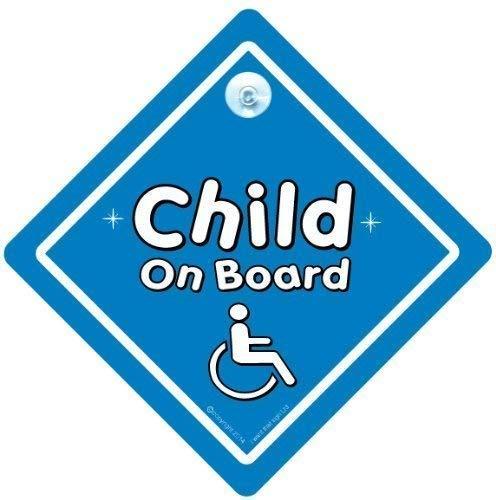 bleu Personnalisé enfant//bébé à bord voiture signe ~ mummy /& daddys princes ~ d