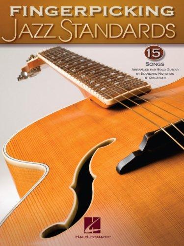 Fingerpicking Jazz Standards: Jazz Guitar Chord Melody Solos ...