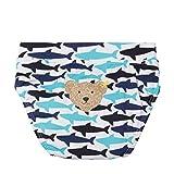 STEIFF® Baby Jungen Beachwear Badewindel , Präzise Farbe:Blau, Größe:74