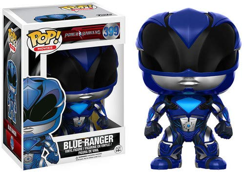 Funko 12345 POP Vinylfigur: Power Rangers - Der Film: Blauer Ranger (Power Blau Ranger)