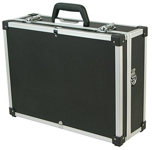 Blinky 40545-05, valigetta elettricista alluminio, nero, 165 x 460 x 360 mm