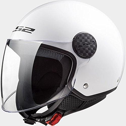 Preisvergleich Produktbild LS2 OF558 Sphere Motorradhelm Weiß XL