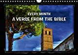 Every month a verse from the Bible (Wall Calendar 2018 DIN A4 Landscape): Calendar with passages from Scripture (Monthly