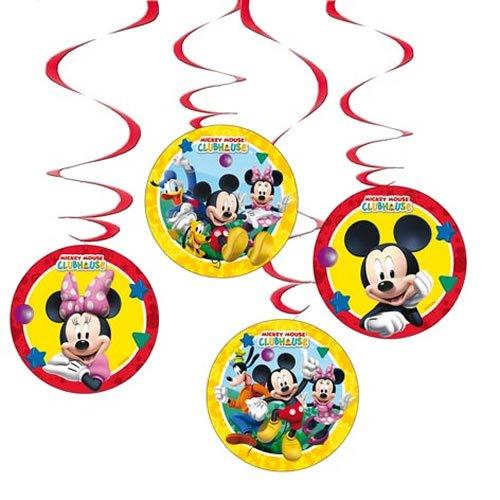 Deko * MICKEY MOUSE * für Kindergeburtstag // Kinder Geburtstag Party Deko Hanging Cutouts Micky Maus (Mickey Maus Geburtstag)