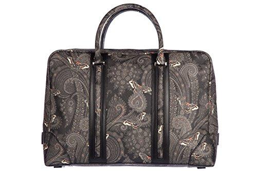 Givenchy borsa lavoro portadocumenti pc notebook cartella fantasy grigio