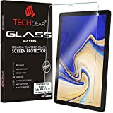 TECHGEAR Vetro Temperato Compatibile con Samsung Galaxy Tab S4 10.5 Pollici (SM-T830 / SM-T835) - Autentica Pellicola protecttiva in Vetro Temperato Salvaschermo