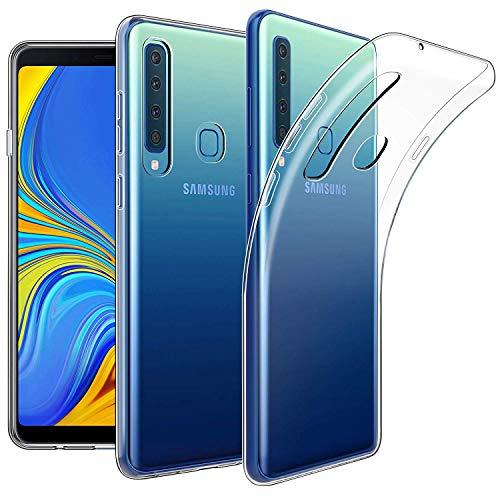 Preisvergleich Produktbild Keteen Samsung A9 2018 Hülle,  Silikon Transparent Handyhülle für Galaxy A9 2018,  Weiche TPU Durchsichtige Schutzhülle Ultradünn Case für Samsung Galaxy A9 2018 - Crystal Clear