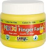 Mucki 23111 Fingerfarbe, 150 ml, braun