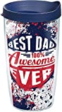 Best Dad Tumblers - Tervis 1174816 Dad Splatter Tumbler with Wrap Review