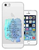 Best CELLBELL Friend Cases For Iphone 5s - c01367 - Bravery Enemies Friends Quote Inspirational Design Review