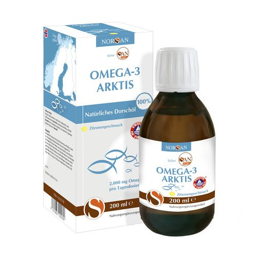 NORSAN Omega-3 Arktis flüssig 200 ml Flüssigkeit -