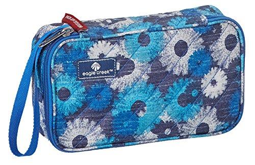 Eagle Creek Kofferorganizer Pack-It Original Quilted Quarter Cube platzsparende Packtasche für die Reise, daisy chain blue