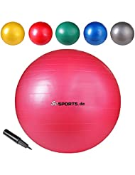 Gymnastikball Sitzball 65 cm Ball verschiedene Farben