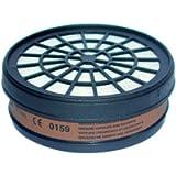 Mecafer 154285 - Filtro A1 per maschera di protezione (gas acidi, alogeni)