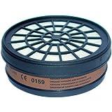 Mecafer 154285 Filtre A1 pour masque de protection (gaz acides, hallogènes)