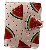 Shagwear Junge-Damen Geldbörse, Small Purse: Verschiedene Farben und Designs: (Geldbörse Wassermelone Rosa/ Watermelon)