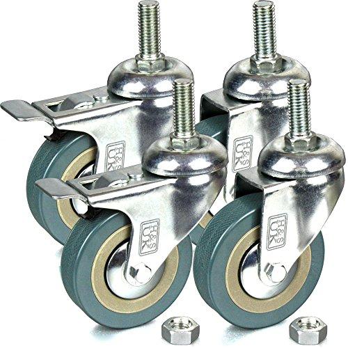 hs-4-x-heavy-duty-75mm-rubber-swivel-castor-wheels-trolley-furniture-caster-screw
