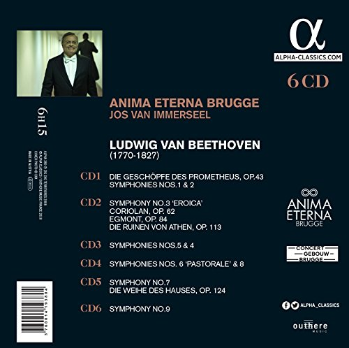 Beethoven: Complete Symphonies & Ouvertures