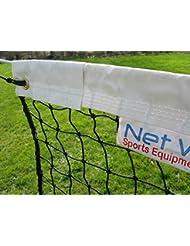 Tennisnetz für Einzel, 10 m (33 Fuß), 2,5 mm, Gewicht 4 kg [Net World Sports]