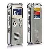Leoie Voice Record Mini 8GB Digital Sound Audio Recorder Dictaphone MP3 Player