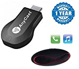 #7: Raptas HDMI dongle AnyCast M2 Plus WiFi 1080P FHD HDMI TV Stick DLNA Wireless Chromecast Airplay With S10 Wireless Mini Speaker (One Year Warranty)