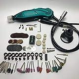 Neue Art Mini Mühle Dremel Bohrer Elektrische Variable Geschwindigkeits-drehwerkzeug Mit 207 Unids Werkzeuge Zubehör - Multi-Color