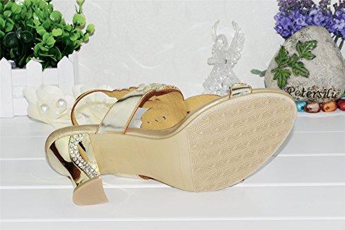 Unicrystal , a bride femme Or - doré