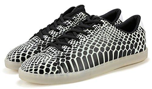NEWZCERS , Chaussures d'athlétisme pour femme noir/blanc