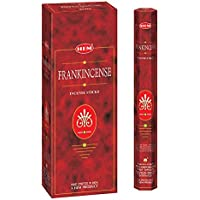 Frankincense - Box of Six 20 Sticks Tubes, 120 Sticks Total - HEM Incense From India by Hem preisvergleich bei billige-tabletten.eu