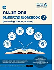 All in One Olympiad Workbook for Reasoning, Math, Science - Class 7