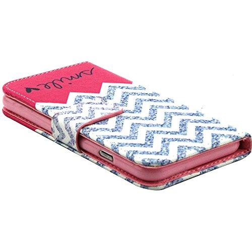 """EUDTH iPhone 6s Coque Peinture Style Housse Flip Cover Portefeuille Etui en Cuir de Protection Case vec B¨¦quille pour iPhone 6 6S 4.7"""" -YH07 YH02"""
