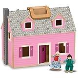 Melissa & Doug 13701 Fold and Go Dollhouse