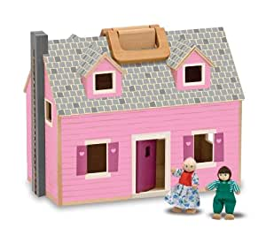 Melissa & Doug 13701 Fold and Go Dollhouse