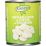 JUANITO Médaillons Cœurs de Palmiers 500 g - Lot de 4