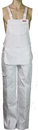 Mens Bib And Brace Decorators Overalls Men Dungarees Workwear Painter Clothing S To XL