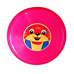 Sunny Pink Trio Swing Flying Disc