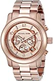 Michael Kors Men's MK8096 Rose Gold Tone Stainles-Steel Quartz Watch with Gold Dial