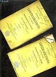 systeme des contradictions economiques ou philosophie de la misere oeuvres completes de p j proudhon tome 5 troisieme edition tome 1 tome 2