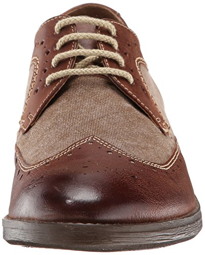 Clarks DELSIN Flügel Oxford Brown