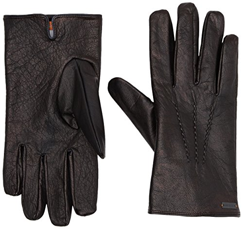 BOSS Orange Herren Handschuhe Gans2 Schwarz (Black 001), 9