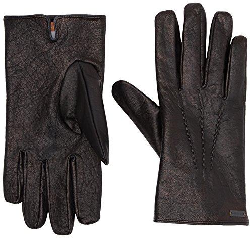 BOSS Orange Herren Handschuhe Gans2, Schwarz (Black 001), 9.5