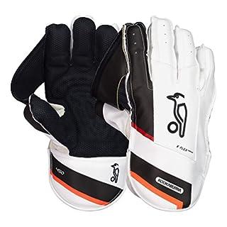 Kookaburra 2018450Wicket Keeping Handschuhe, Unisex, 6F218P, weiß, Für Erwachsene