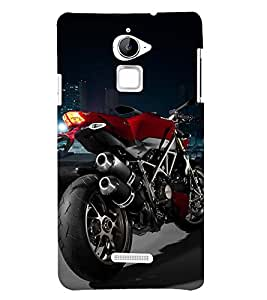 PrintVisa Style Stylish Bike 3D Hard Polycarbonate Designer Back Case Cover for Coolpad Note 3 Lite :: Coolpad Note 3 Lite Dual SIM