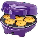 Clatronic DMC 3533 - Máquina de hacer magdalenas, rosquillas y cake pops, 700 W, color morado