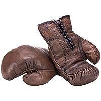 Guantes de Boxeo; Vintage Marrón Oscuro